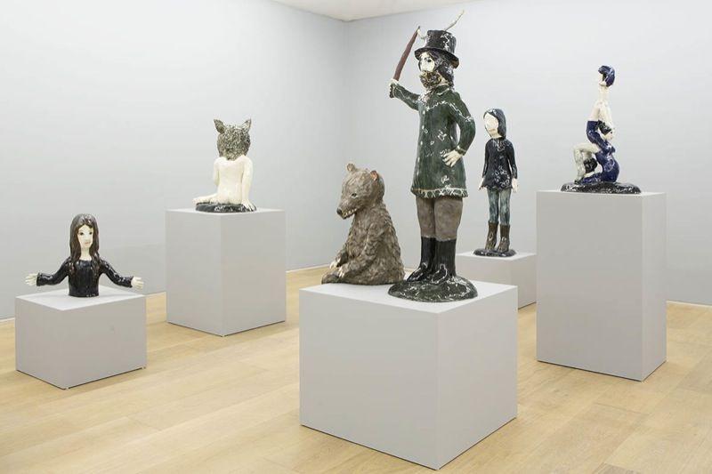 "Klara_Kristalova_View of the exhibition ""Underworld"" at Perrotin - 909 Madison Avenue, New York  New York (USA), 2014_6957_1"
