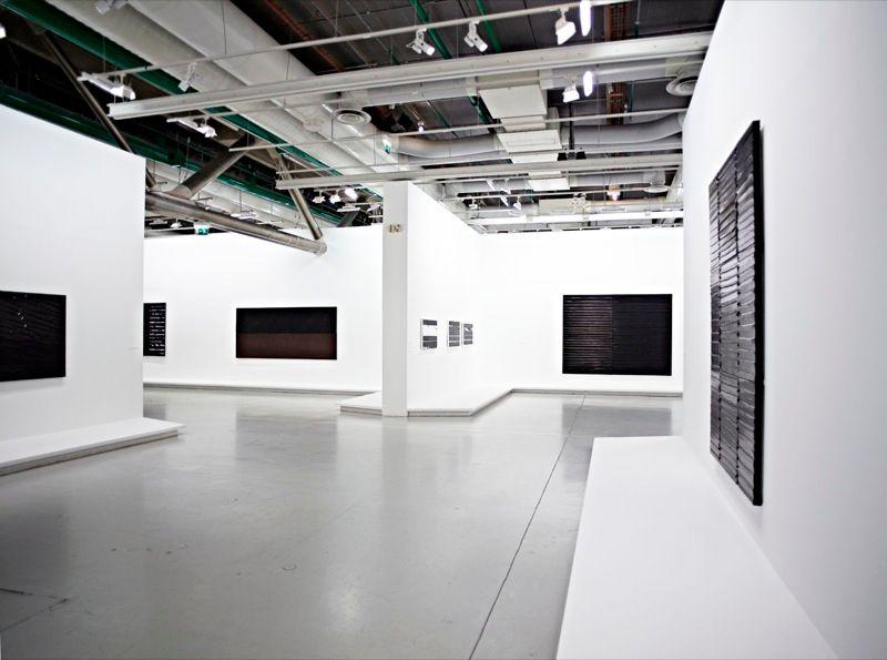 """Pierre_Soulages_View of the exhibition """"Soulages"""" at Centre Georges Pompidou Paris (France), 2010_7161_1"""
