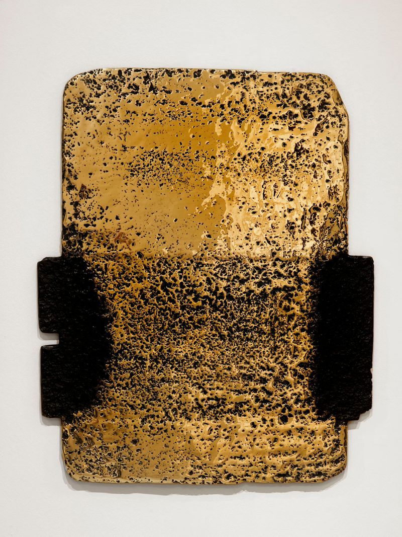 """Pierre_Soulages_View of the exhibition """"Soulages. Le temps du papier"""" at Contemporary Art Museum Strasbourg (France), 2009_7172_1"""