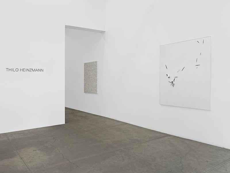 """Thilo_Heinzmann_View of the exhibition """"Thilo Heinzmann"""" at Bortolami Gallery New York (USA), 2014_7259_1"""