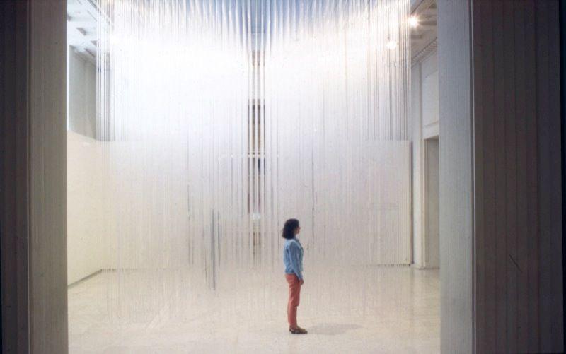 """Jesus_Rafael_Soto_View of the exhibition """"Retrospective"""" at Fundação de Serralves Porto (Portugal), 1993_7435_1"""