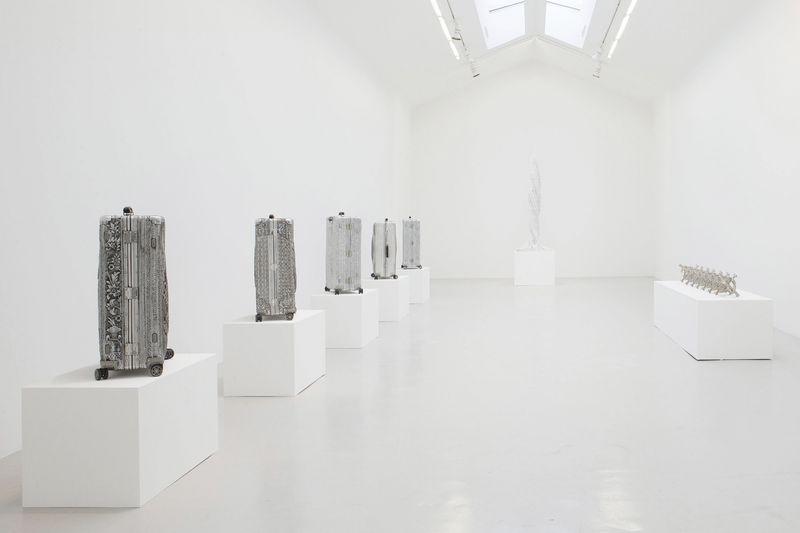 Wim_Delvoye_View of the exhibition  at Perrotin, Paris  Paris (France), 2014_7880_1