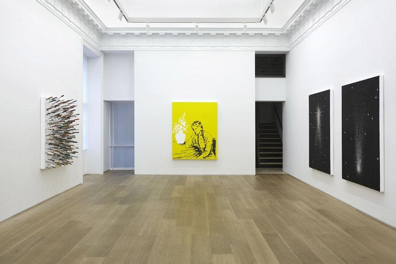 "Farhad_Moshiri_View of the exhibition ""FLOAT"" at Perrotin, New York New York (USA), 2014_8004_1"