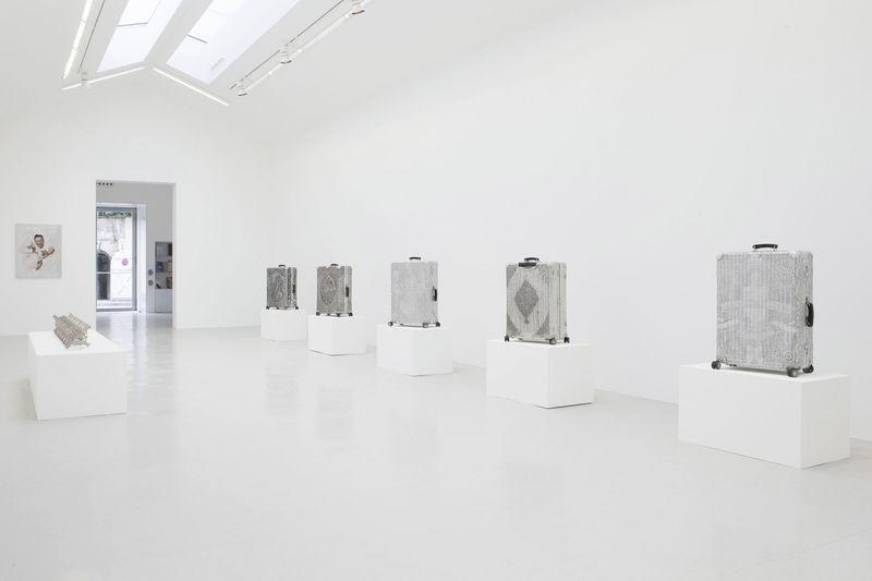 Wim_Delvoye_View of the exhibition  at Perrotin, Paris  Paris (France), 2014_8011_1