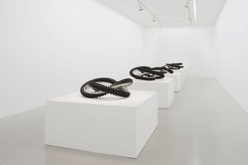 Wim_Delvoye_View of the exhibition  at Perrotin, Paris  Paris (France), 2014_8012_1