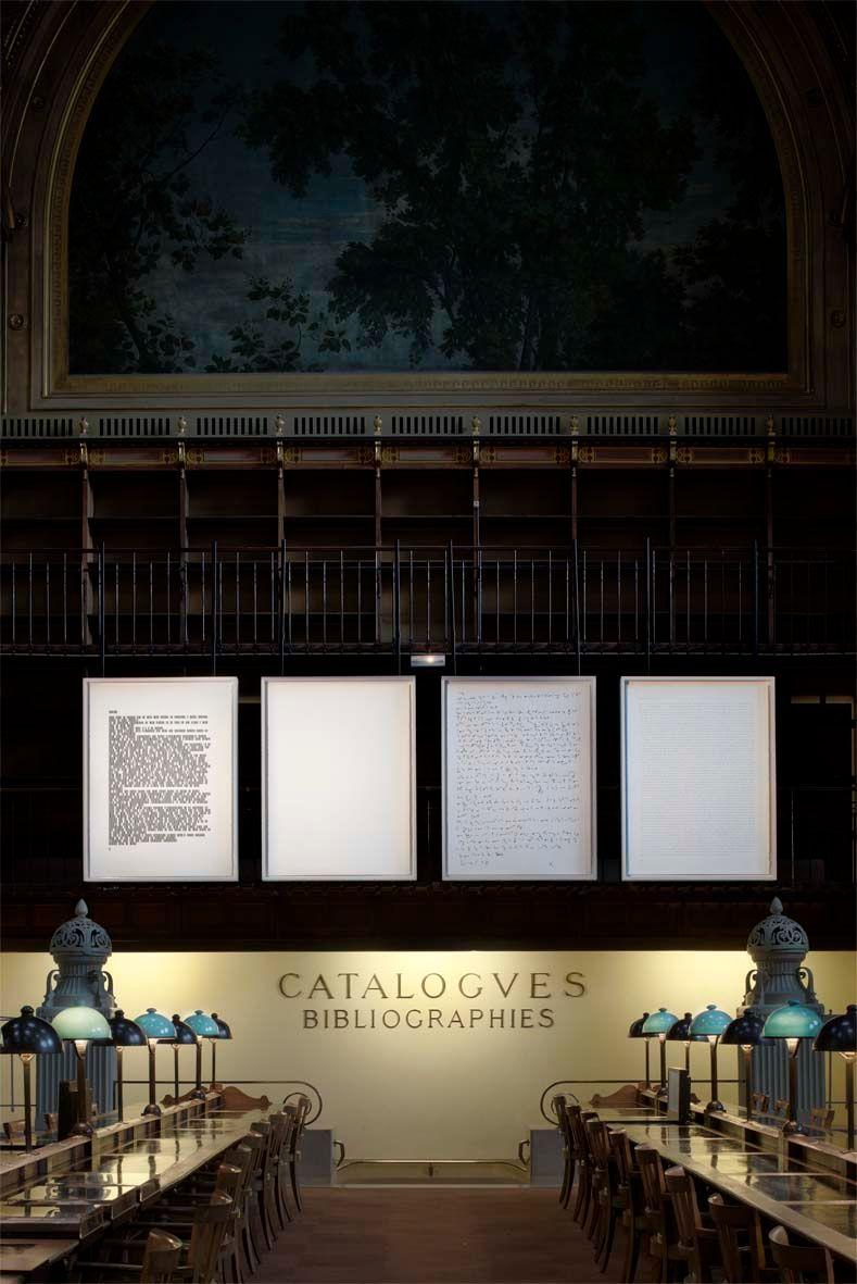 """Sophie_Calle_View of the exhibition """"Prenez soin de vous"""" at Bibliothèque Nationale de France, Site Richelieu (France), 2008_818_1"""