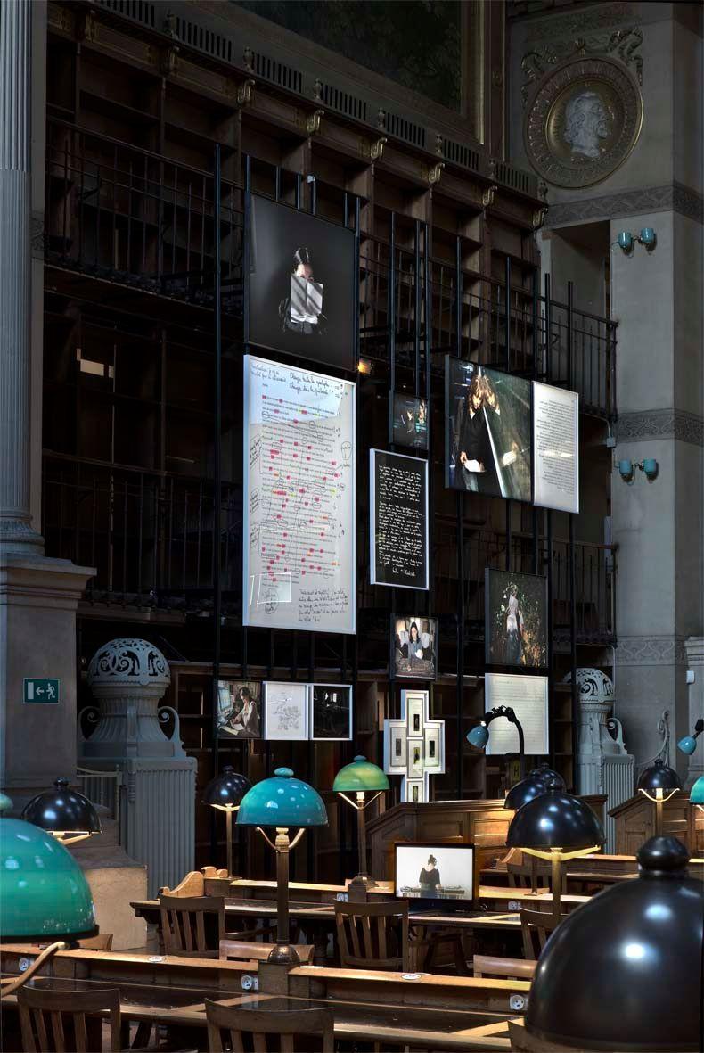 """Sophie_Calle_View of the exhibition """"Prenez soin de vous"""" at Bibliothèque Nationale de France, Site Richelieu (France), 2008_822_1"""