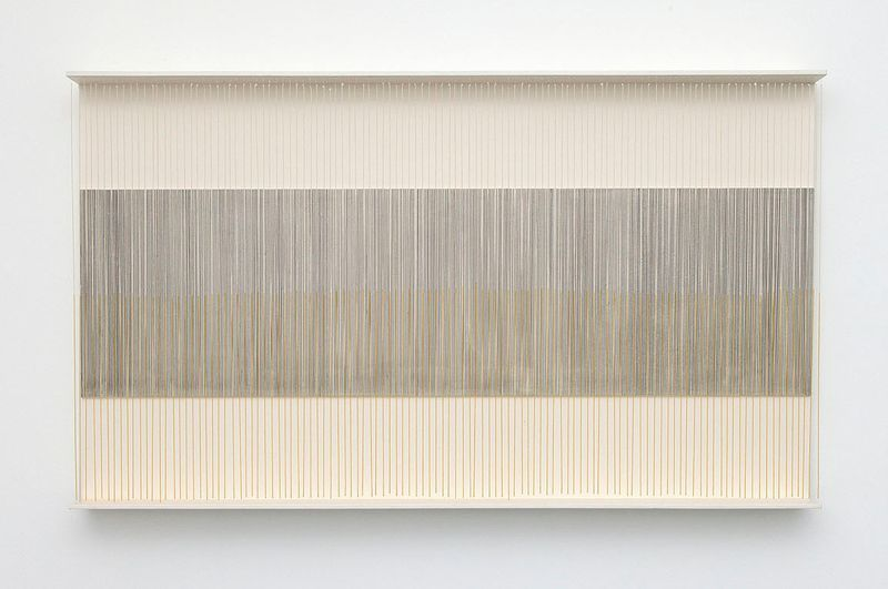 """Vibration pure"", 1968, paint on wood and metal, unique"