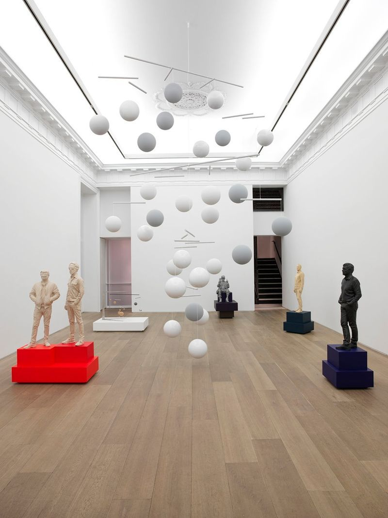 "Xavier_Veilhan2_View of the exhibition ""Music"" at New York Gallery New York (USA), 2015_8823_1"
