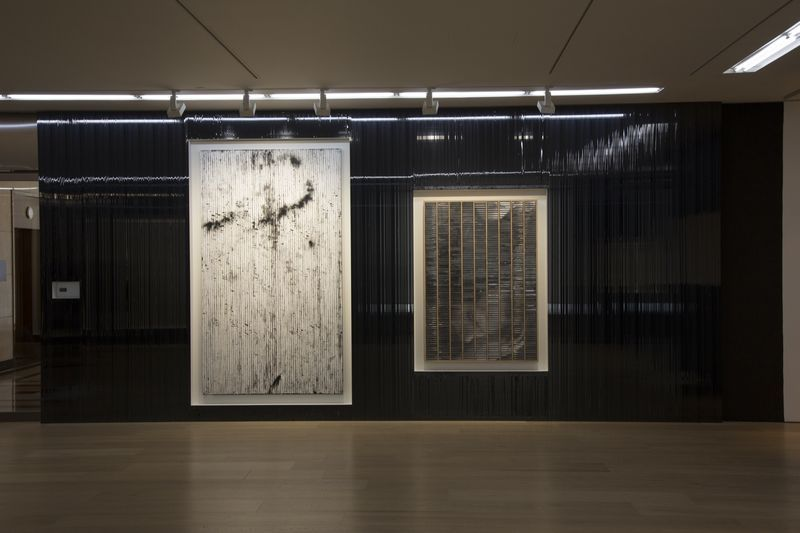 "Gregor_Hildebrandt_View of the exhibition ""Coming by Hazard"" at HONG KONG GALLERY  Hong Kong (China), 2015_8916_1"