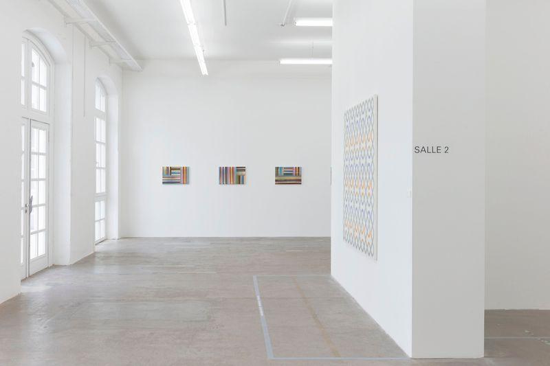 "Bernard_Frize_View of the exhibition ""Gunter Umberg Bernard Frize"" at Fondation Fernet Branca  Saint Louis (France), 2015_9169_1"