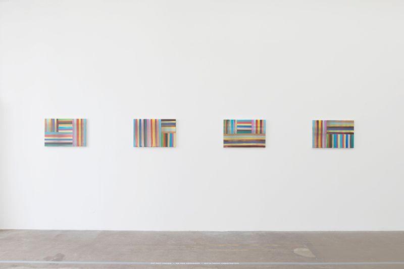 "Bernard_Frize_View of the exhibition ""Gunter Umberg Bernard Frize"" at Fondation Fernet Branca  Saint Louis (France), 2015_9172_1"
