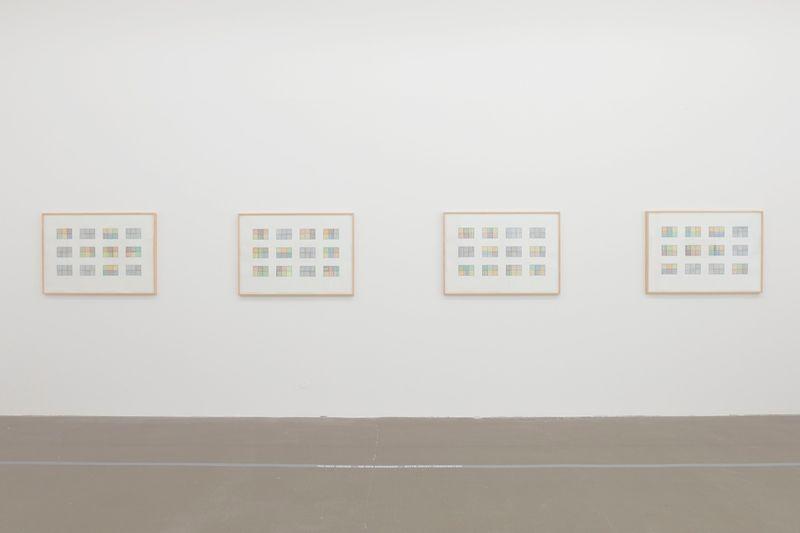 "Bernard_Frize_View of the exhibition ""Gunter Umberg Bernard Frize"" at Fondation Fernet Branca  Saint Louis (France), 2015_9173_1"
