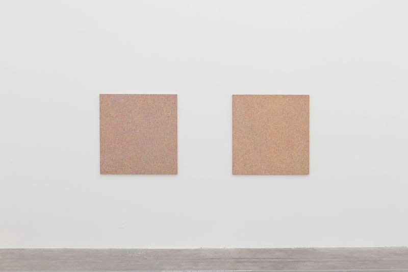 "Bernard_Frize_View of the exhibition ""Gunter Umberg Bernard Frize"" at Fondation Fernet Branca  Saint Louis (France), 2015_9213_1"