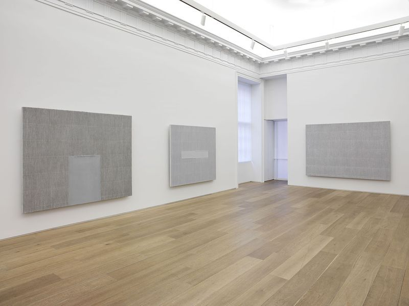 "Seo-Bo_Park_View of the exhibition ""Ecriture"" at Perrotin - 909 Madison Avenue, New York  New York (USA), 2015_9260_1"