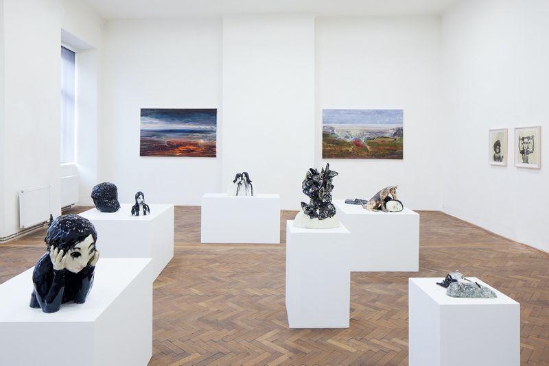 "View of the group exhibition ""Pandora's Vox"" at Prague City Gallery  Prague (Czech Republic), 2015"
