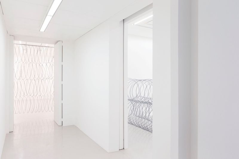 View of the exhibition Draft at Galerie Perrotin - Saint Claude  Paris (France), 2015