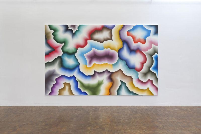 "Bernard_Frize_View of the exhibition ""AWARD : Käthe-Kollwitz Prize"" at Berlin Academy for Art  Berlin (Germany), 2015_9636_1"