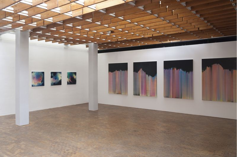 "Bernard_Frize_View of the exhibition ""AWARD : Käthe-Kollwitz Prize"" at Berlin Academy for Art  Berlin (Germany), 2015_9638_1"