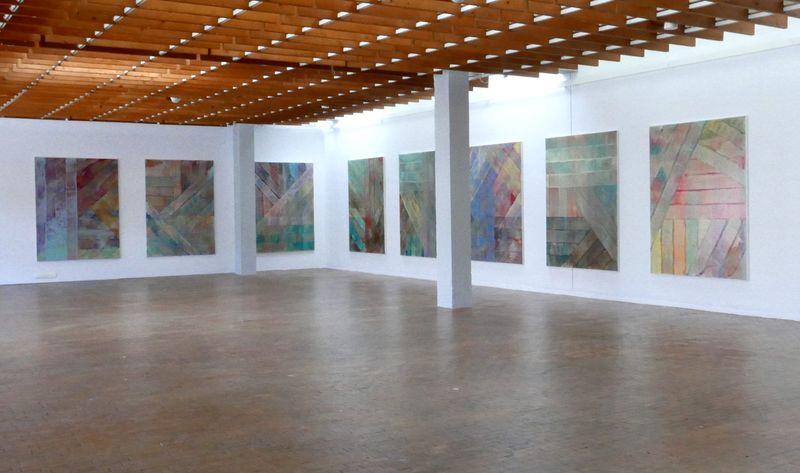 "Bernard_Frize_View of the exhibition ""AWARD : Käthe-Kollwitz Prize"" at Berlin Academy for Art  Berlin (Germany), 2015_9656_1"