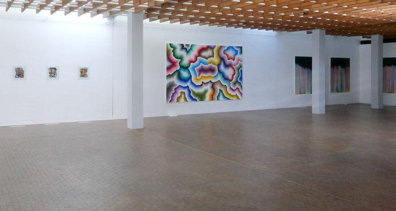 "Bernard_Frize_View of the exhibition ""AWARD : Käthe-Kollwitz Prize"" at Berlin Academy for Art  Berlin (Germany), 2015_9657_1"