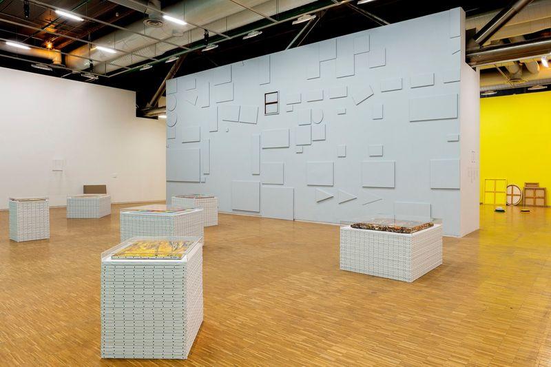 """View of the exhibition """"d'où je viens où j'en suis où je vais"""" in 2015 at Centre Pompidou, Paris"""