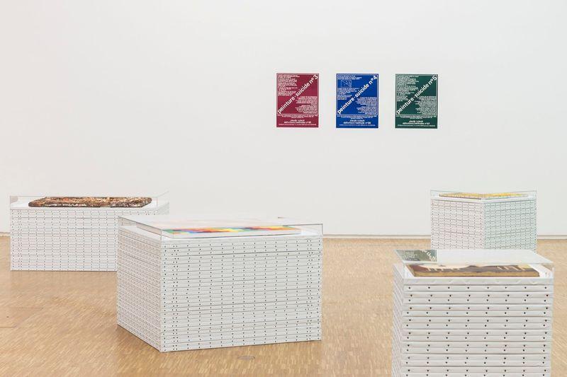 """View of the exhibition """"d'où je viens où j'en suis où je vais"""" at Centre Georges Pompidou  Paris, 2015-2016"""