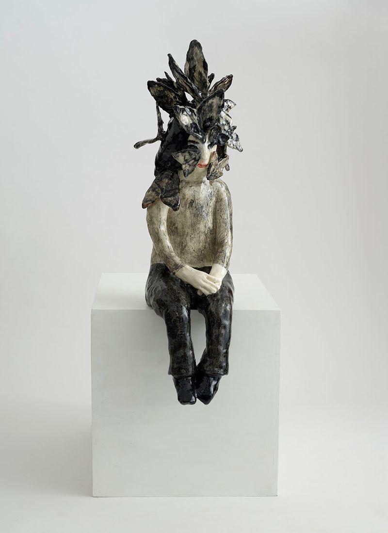 """Klara Kristalova, """"And still they remain"""", 2009, glazed stoneware, unique, private collection"""