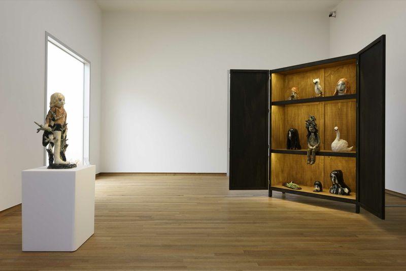 "Klara_Kristalova_View of the group exhibition ""Ceramix: Ceramics in art from Rodin to Schütte"" curated by Camille Morineau  at Musée Bonnefanten  Maastricht (Netherlands), 2015_9791_1"