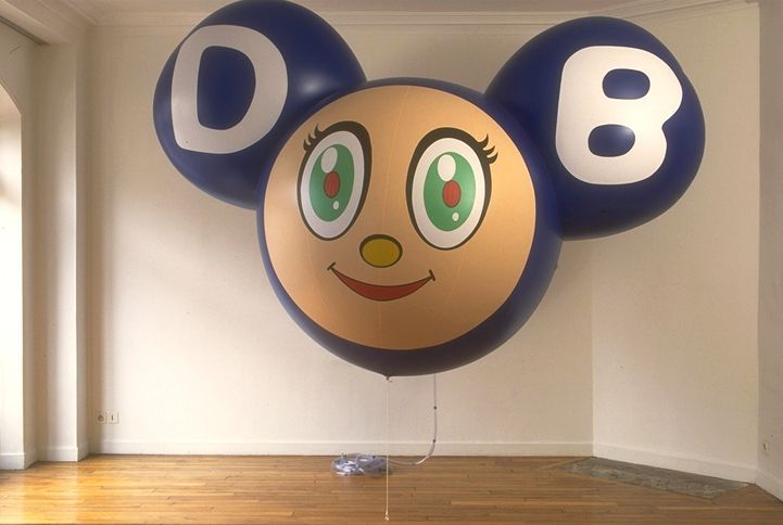 Takashi_Murakami_View of the exhibition  at GALERIE PERROTIN PARIS (France), 1995_exhibition_1164_1