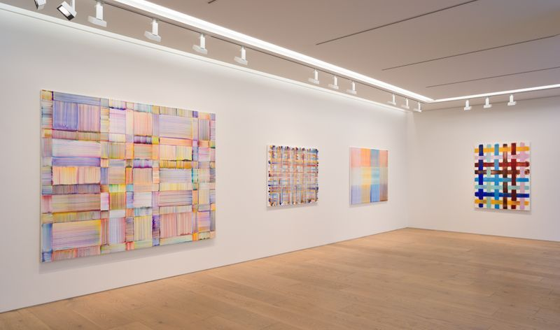 Bernard_Frize_View of the exhibition  at Perrotin, Tokyo (Japan), 2019_exhibition_7199