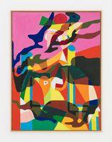 Camouflage Lichtenstein/Picasso, Femme dans un fauteuil | Alain JACQUET