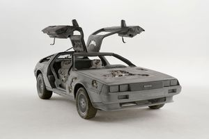 Eroded Delorean | Daniel ARSHAM
