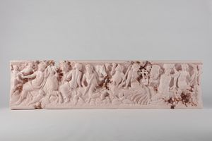 Rose Quartz Sarcophagus with Nereids | Daniel ARSHAM