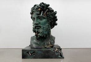 Bronze Eroded Bust of Zeus | Daniel ARSHAM