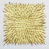 Wooden Knife in Yellow | Farhad MOSHIRI