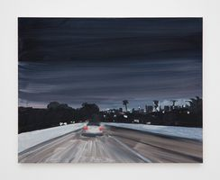Highway night (colour) | Jean-Philippe DELHOMME