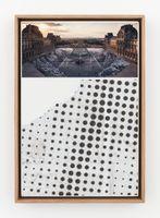 JR au Louvre et le Secret de la Grande Pyramide, Relique #2 © Pyramide, architecte I. M. Pei, musée du Louvre, Paris, France | JR