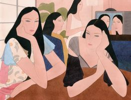 in the living room | Kelly BEEMAN