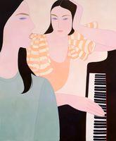 singing at the piano | Kelly BEEMAN