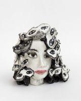 Head with many moths / Thousands butterflies | Klara KRISTALOVA