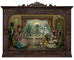 The Parlor - Allegory of Magic, Quintessence and Divine Mystery | Mark RYDEN