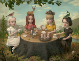 Allegory of the Four Elements | Mark RYDEN