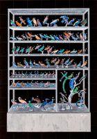 Specimen Cabinet in Negative Color / 反色標本櫃 | NI Youyu