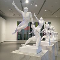 e Soldier of Marathon Announcing Victory, a Wounded Galatian | XU ZHEN®