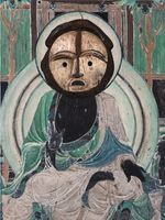 Evolution-Buddha from the South Wall of Mogao Cave No. 172, Galoa Mask / 進化-莫高窟172窟主室南壁佛、 Galoa 面具 | XU ZHEN®