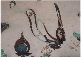 Evolution-North Wall of Mogao Cave No.172, Mma Ji Mask / 進化-莫高窟172窟主室北壁、瑪基面具 | XU ZHEN®