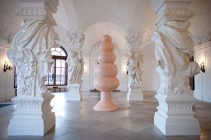 """View of the exhibition """"Frohes Fest"""" at Oberes Belvedere Vienna (Autriche), 2010 