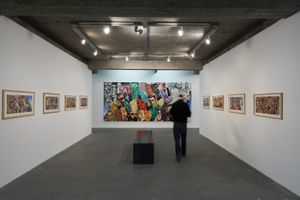 "View of the exhibition ""Erró and Art History"" curated by Danielle Kvaran  at Reykjavík Art Museum  Reykjavik (Iceland), 2014 