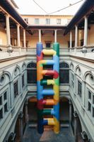 "展覽現場圖 ""Installazione per il cortile"" 於 Palazzo Strozzi  Florence (Italy), 2015 | 波拉·彼薇"